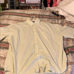Men's button down shirt size 3XLT